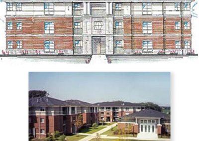 Benedictine University – Founders Woods Apartments, Lisle, Illinois