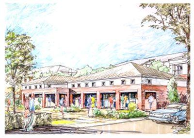 Georgia Southern University – Student Housing – Southern Pines – Southern Courtyard, Statesboro, Georgia
