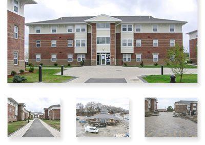 Johnson & Wales University – Student Apartment Homes, Providence, Rhode Island