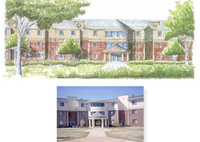 Stillman College Residence Hall, Tuscaloosa, Alabama