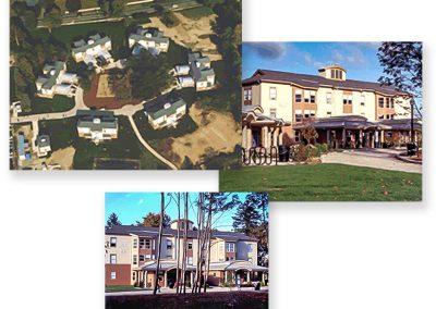 University of Connecticut Greek Housing Community, Storrs, Connecticut