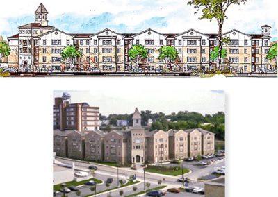 Xavier University Student Housing, Cincinnati, Ohio